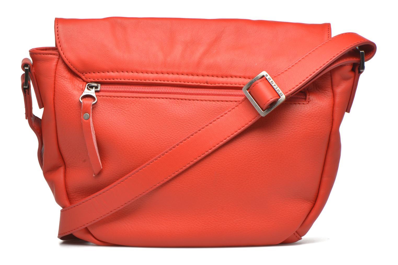 Handtaschen Sabrina Louison rot ansicht von vorne