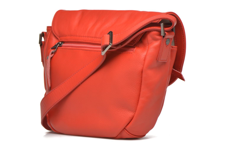 Handtaschen Sabrina Louison rot ansicht von rechts