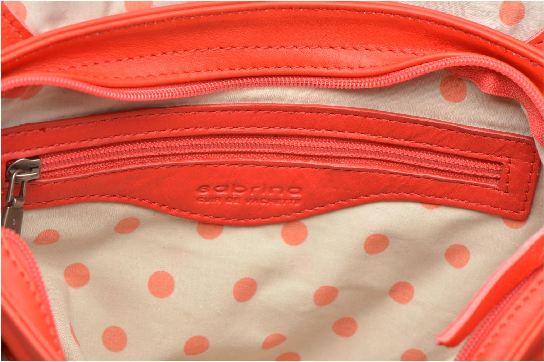 Handtassen Sabrina Louison Rood achterkant