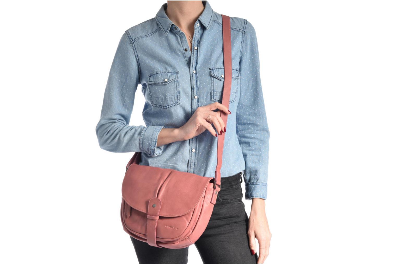 Handtaschen Sabrina Louison rot ansicht von oben