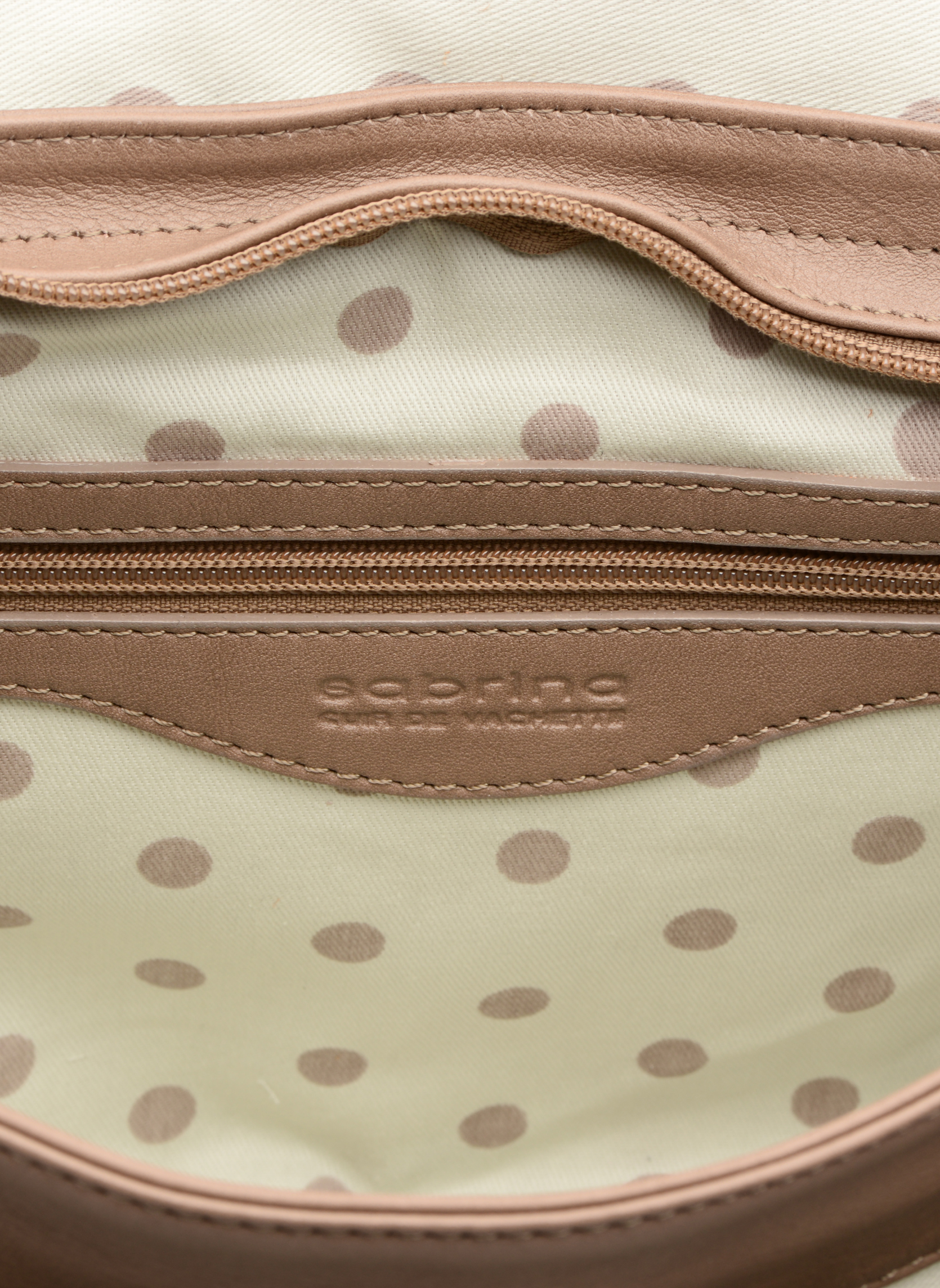 Handbags Sabrina Louison Beige back view