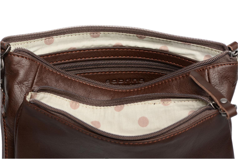 Mini Bags Sabrina Manon braun ansicht von hinten