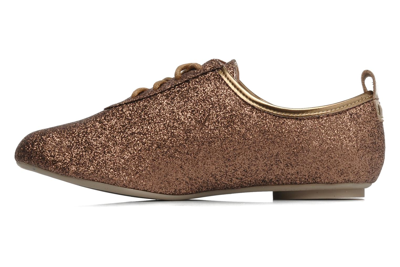 Zapatos con cordones Mellow Yellow Mini Moonwolk Oro y bronce vista de frente