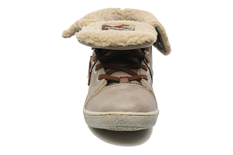 Sneaker Mustang shoes Mukki beige schuhe getragen
