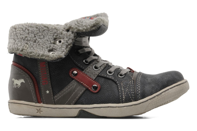 Sneaker Mustang shoes Mukki grau ansicht von hinten