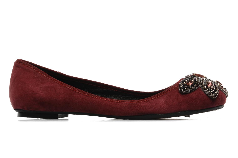 Ballerina's Antik Batik Lita Bordeaux achterkant
