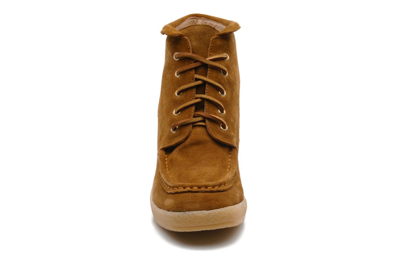 Stiefeletten & Boots Mellow Yellow Missyou braun schuhe getragen