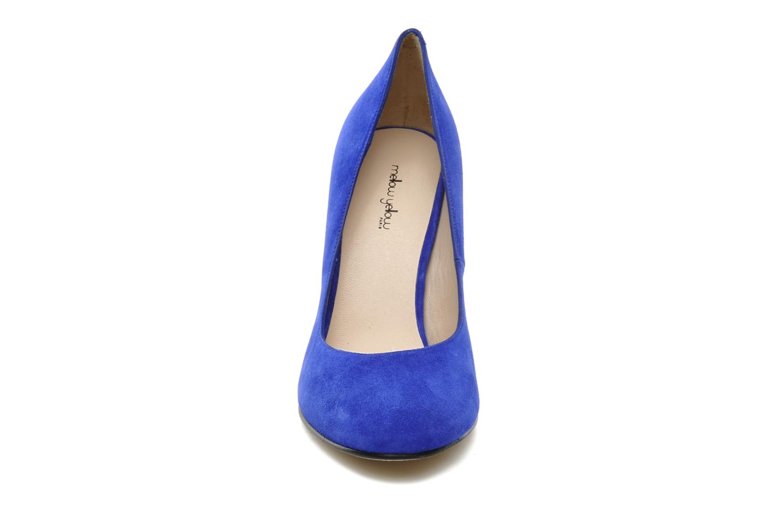 High heels Mellow Yellow Orambo Blue model view