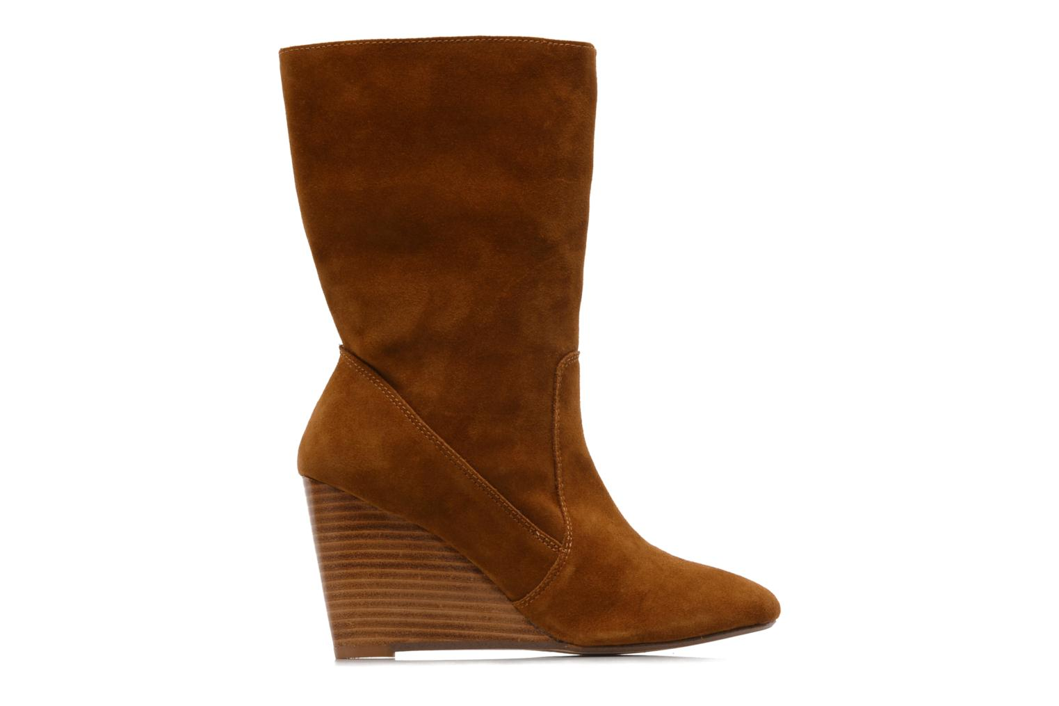 Ankle boots Mellow Yellow Miki Brown back view