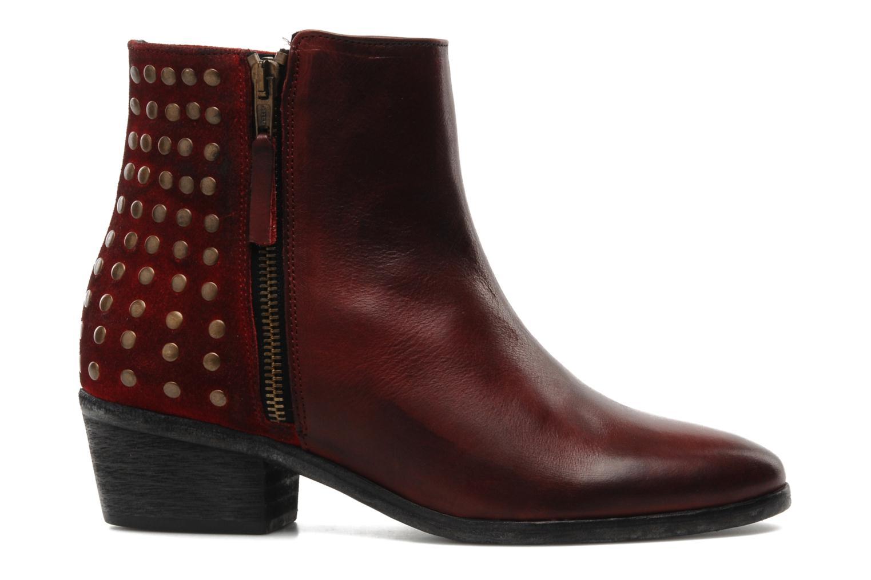 Bottines et boots Pastelle Maureen Bordeaux vue derrière