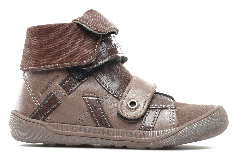 Chaussures à scratch Babybotte actor F Violet vue derrière