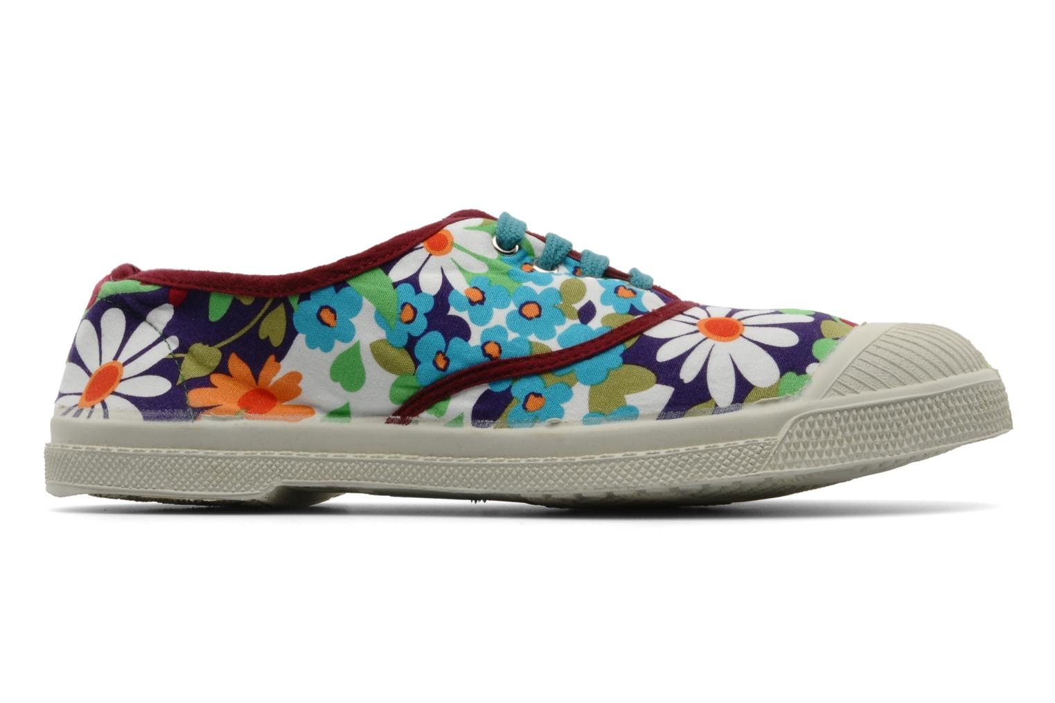 Sneakers Bensimon Tennis Fleurs Exclu Multicolore immagine posteriore