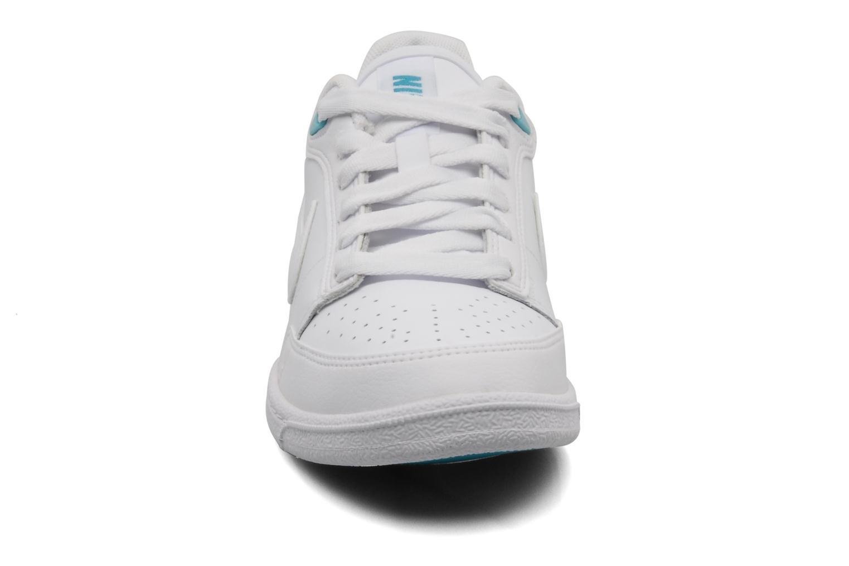 Wmns Nike Double Team Lite White White Bright Turquoise
