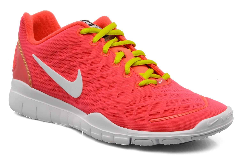 Chaussures de sport Nike Wmns Nike Free Tr Fit Rose vue détail/paire