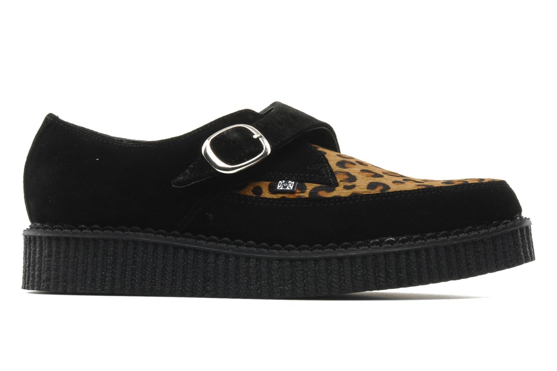 Zapatos con cordones T.U.K. Pointed Lo Buccle Negro vistra trasera