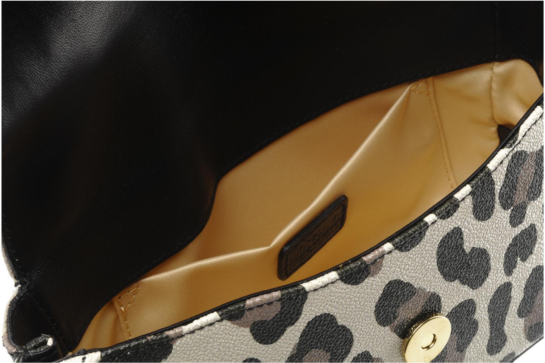 Maculato PVC Borsa Tracolla Maculato beige/nappa nera/vernice nera