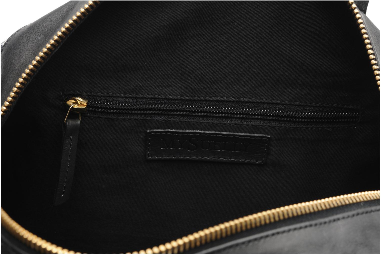 Handtassen MySuelly Alex Large Zwart achterkant