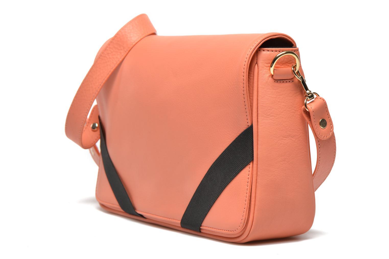 Sacs à main MySuelly Gisèle Orange vue portées chaussures