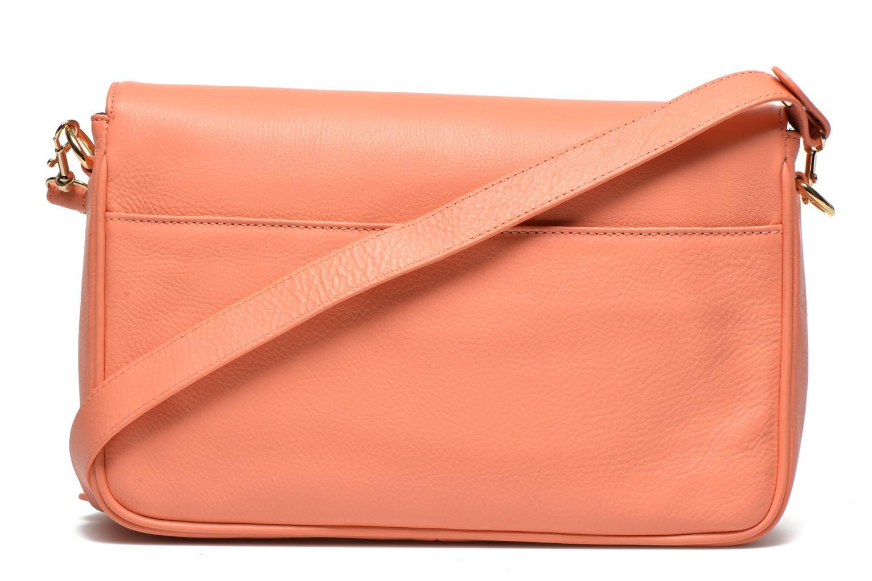 Handtaschen MySuelly Gisèle orange ansicht von vorne