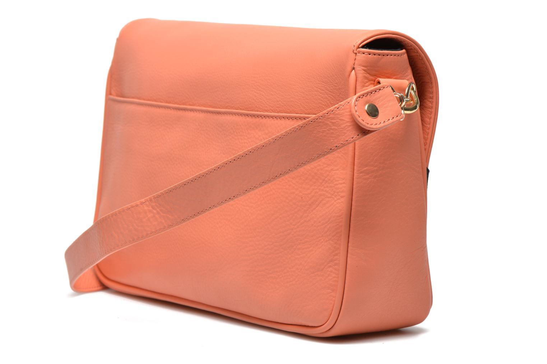 Handtaschen MySuelly Gisèle orange ansicht von rechts