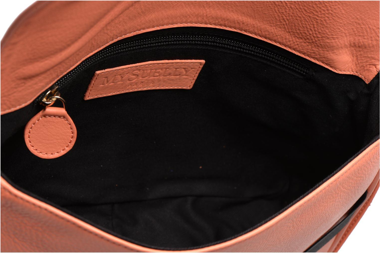 Handtaschen MySuelly Gisèle orange ansicht von hinten