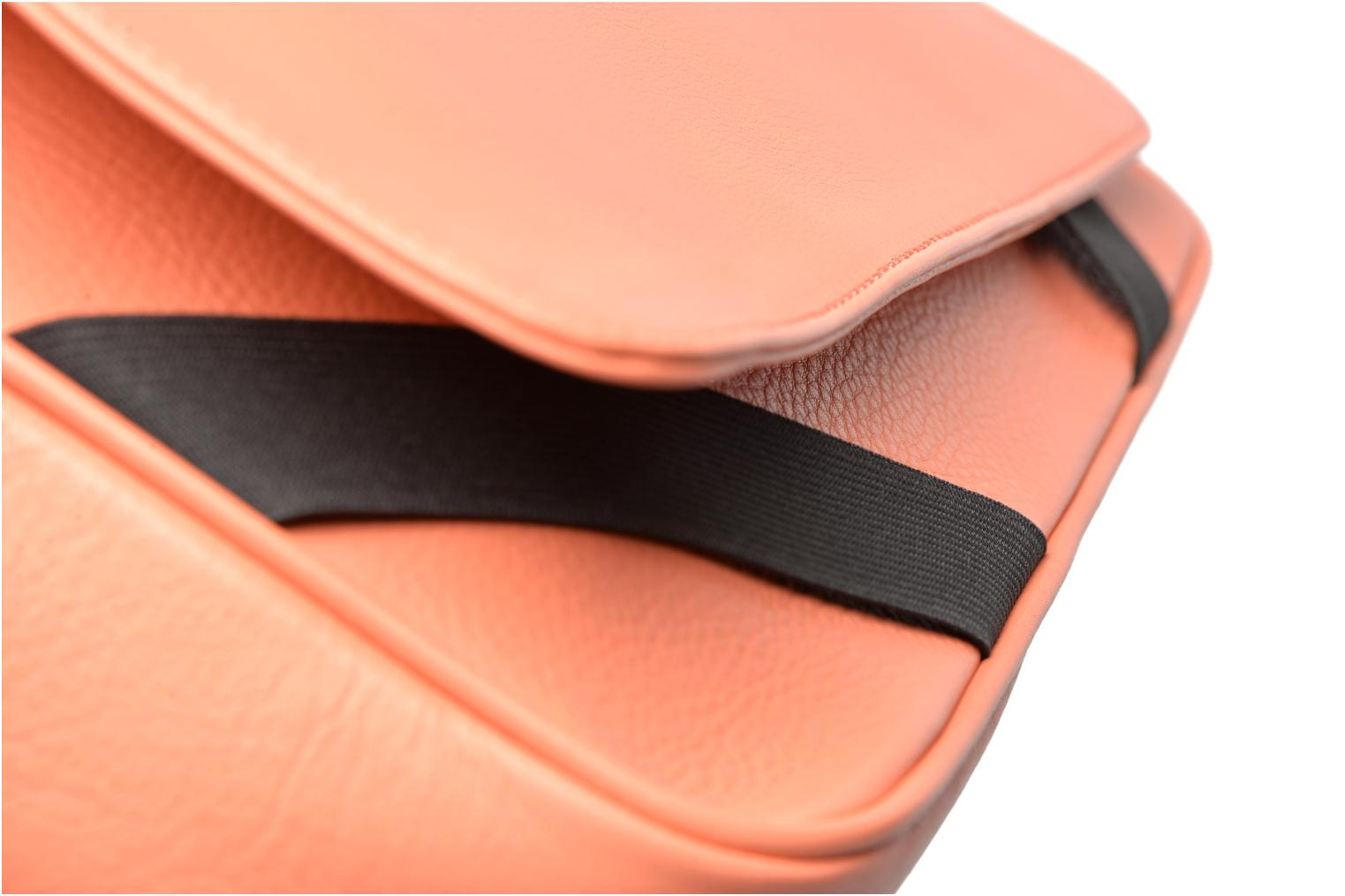 Handbags MySuelly Gisèle Orange view from the left