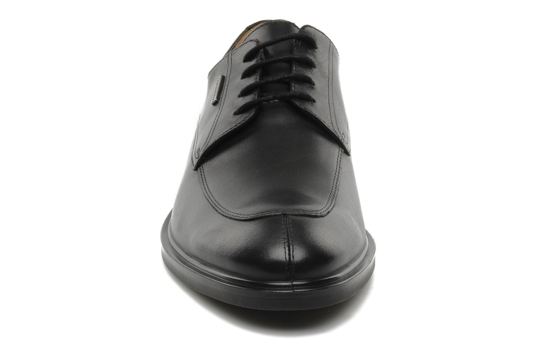Schnürschuhe Geox U LORIS A ABX B U44C6B schwarz schuhe getragen