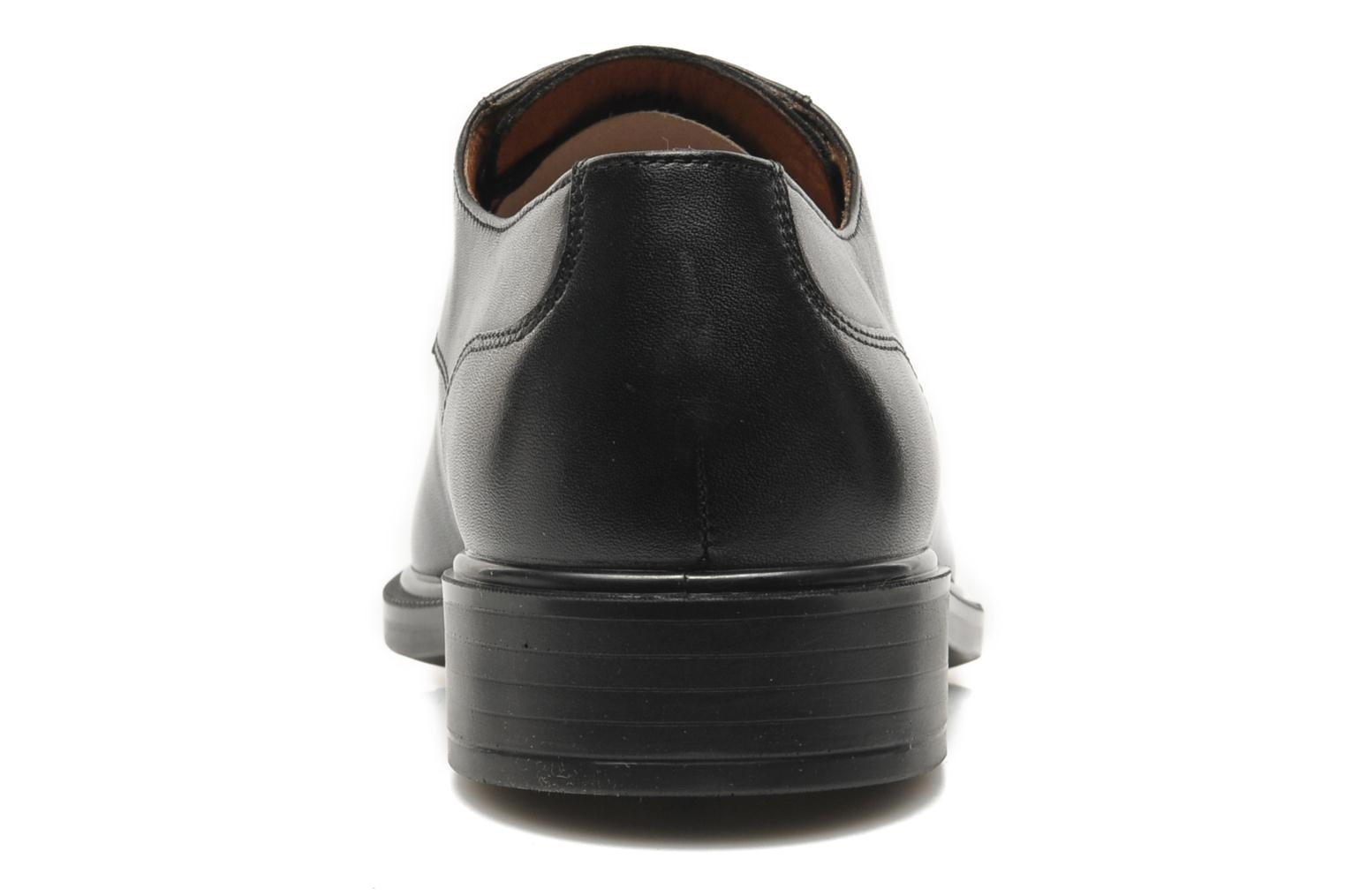 Lace-up shoes Geox U ALEX A ABX A U44C4A Black view from the right
