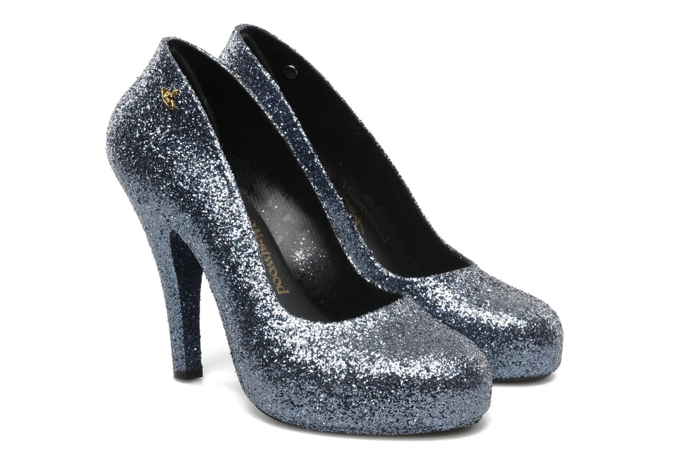 Zapatos de tacón Melissa Vivienne Westwood + Melissa Skyscraper III Plateado vista 3/4