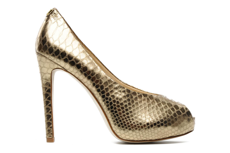 Zapatos de tacón Guess Hytner2 Oro y bronce vistra trasera