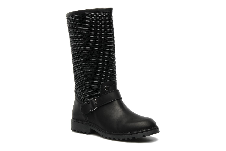 Stiefeletten & Boots Supertrash GUNMETAL BOOT schwarz detaillierte ansicht/modell