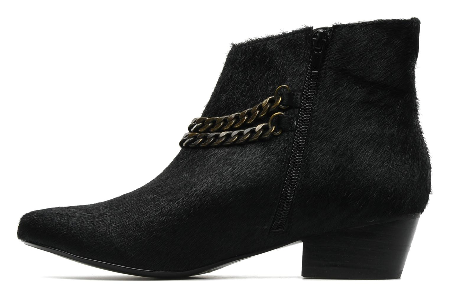 Nasty leather boots Black