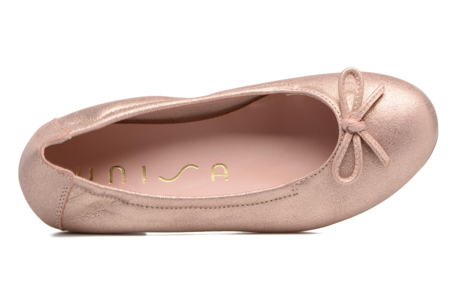 Ballet pumps Unisa Cresy Pink view from the left