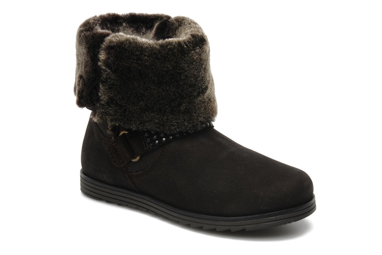 Boots en enkellaarsjes Unisa Ecco Bruin detail