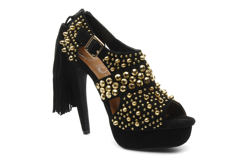 Zapatos de tacón Jeffrey Campbell Pony-Tail Negro vista de detalle / par