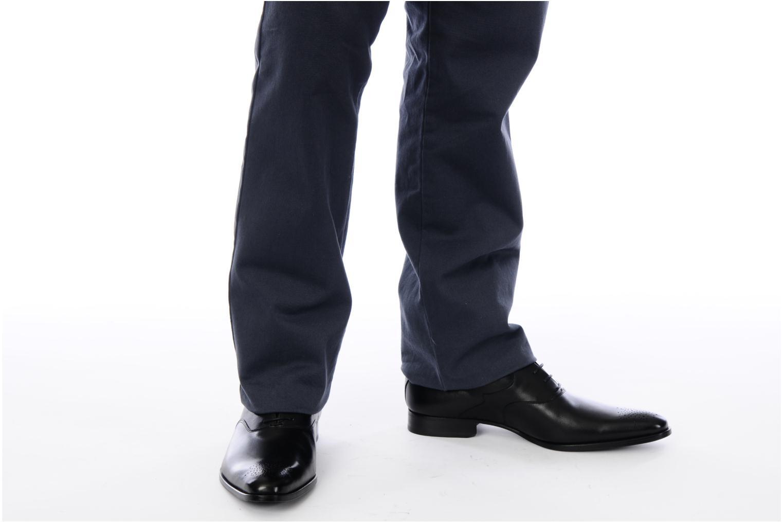 Chaussures à lacets Finsbury Winner Noir vue bas / vue portée sac
