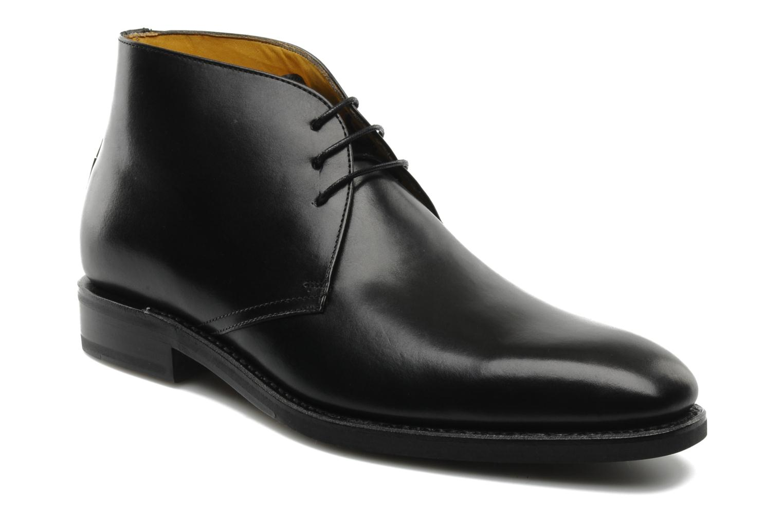 Chaussures à lacets Finsbury Chukka Noir vue détail/paire