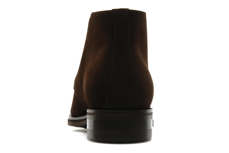 Chaussures à lacets Finsbury Chukka Marron vue droite