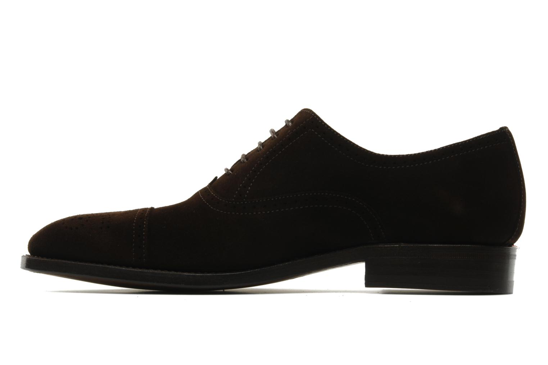 Chaussures à lacets Finsbury Diplomate Marron vue face
