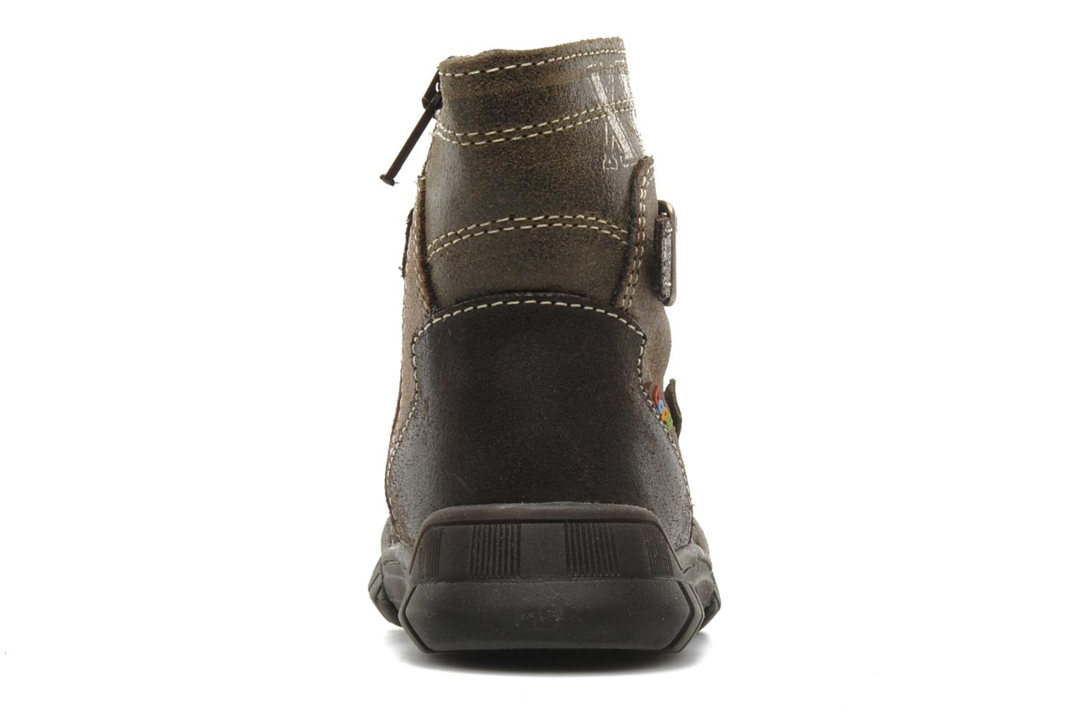 Ankle boots Bopy Bocari Brown view from the right