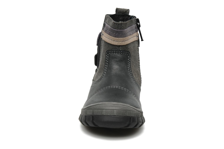 Bottines et boots Bopy Borg Gris vue portées chaussures