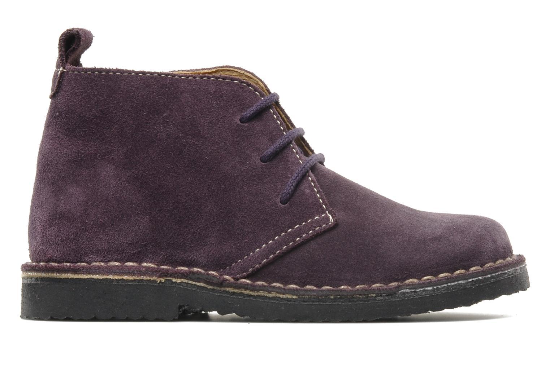 Zapatos con cordones Bopy Molaca Violeta      vistra trasera