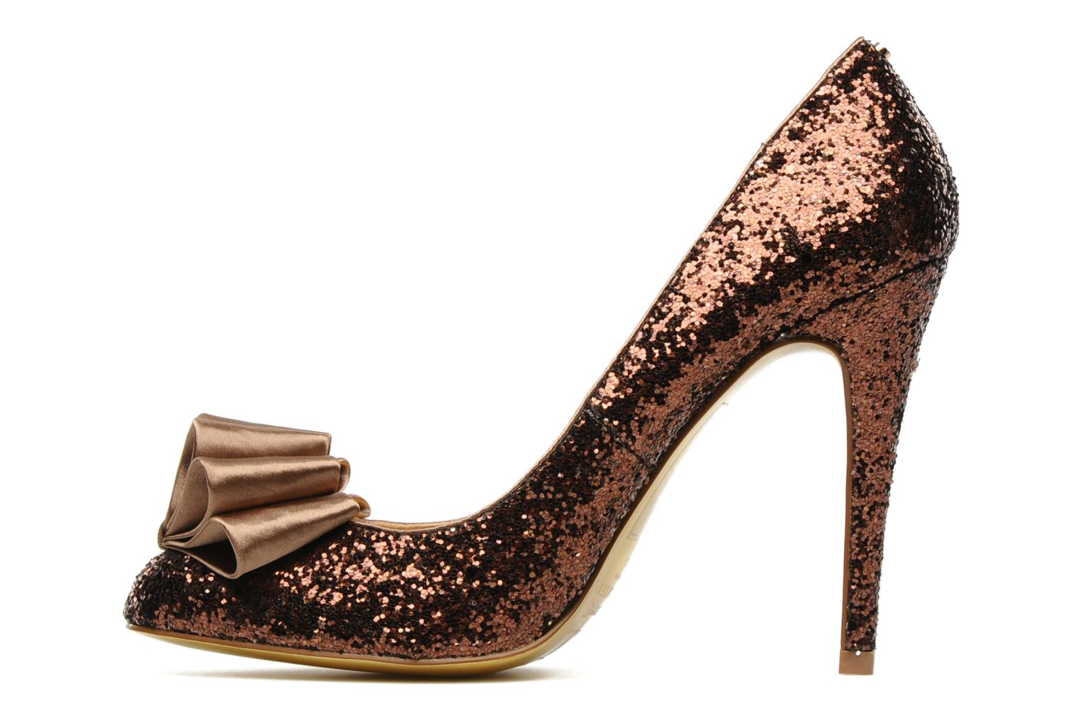 High heels Ted Baker MAYTER Bronze and Gold front view