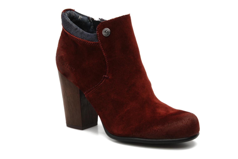 Boots en enkellaarsjes Tommy Hilfiger JADE 4 B Rood detail
