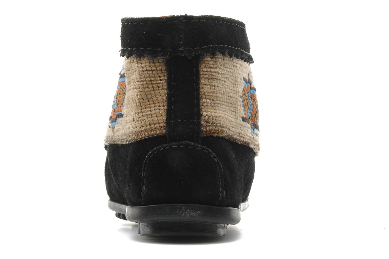 Bottines et boots Minnetonka EL PASO ANKLE BOOT Noir vue droite