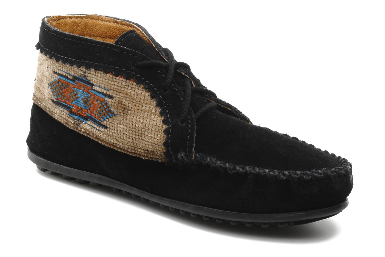 Bottines et boots Minnetonka EL PASO ANKLE BOOT Noir vue détail/paire