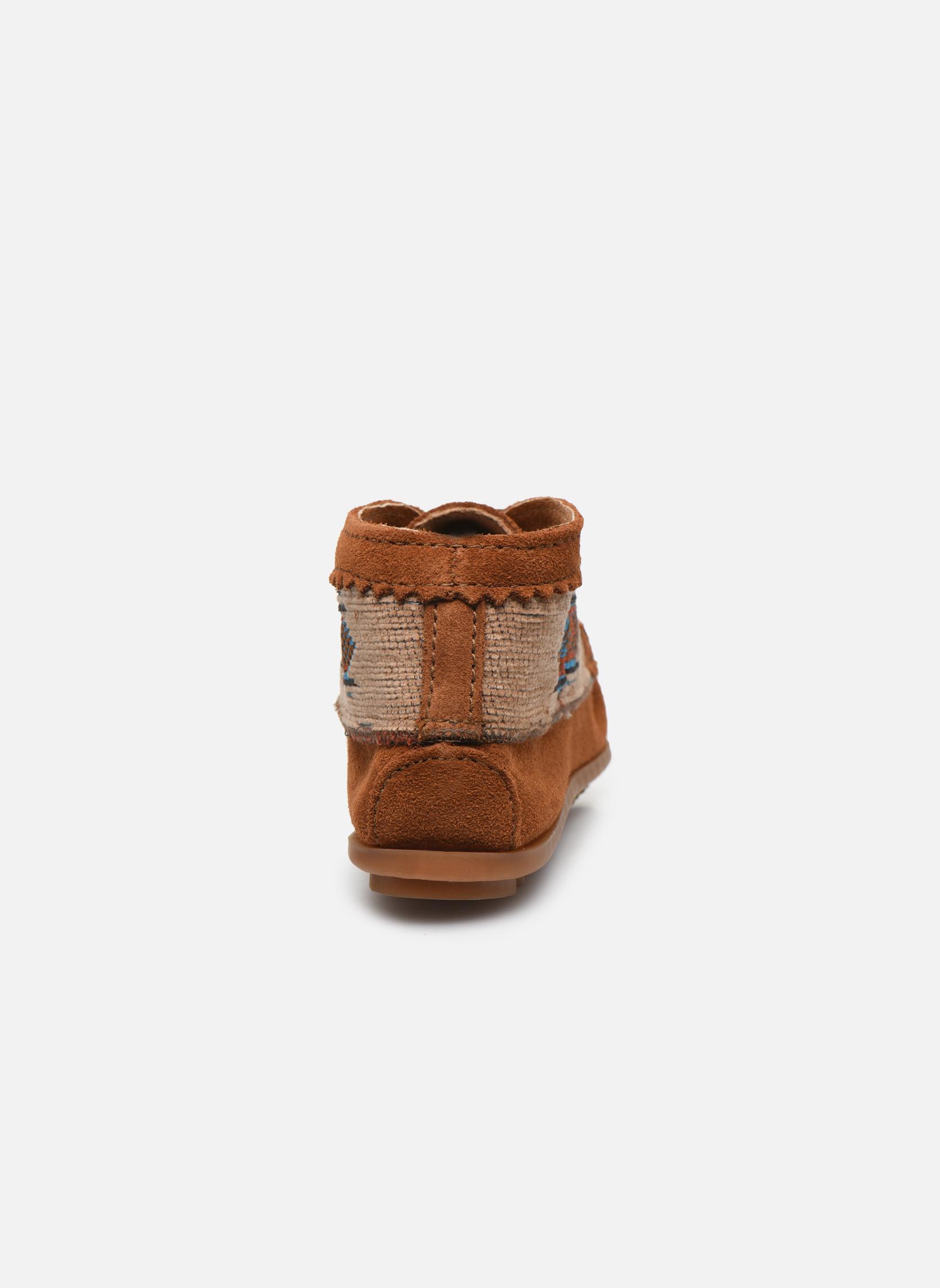 Boots en enkellaarsjes Minnetonka EL PASO ANKLE BOOT Bruin rechts
