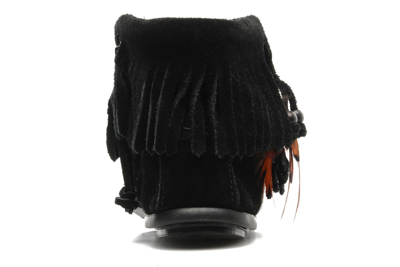 Stiefeletten & Boots Minnetonka CONCHOFEATHER BT schwarz ansicht von rechts