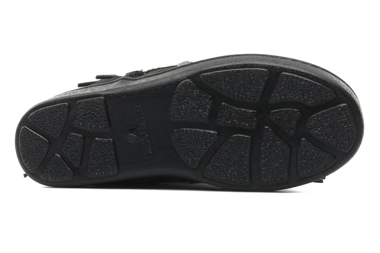 Bottines et boots Minnetonka FRINGE CLASSIC PUG BT Noir vue haut