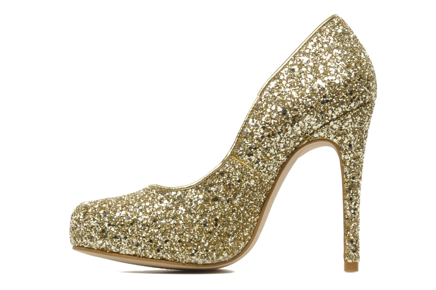 High heels Carvela ANTIBES Bronze and Gold front view
